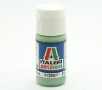イタレリアクリルペイント - フラットペールグリーン