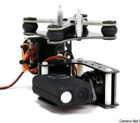 TurnigyメビウスタロットコントローラとAX2206モーターズとの2軸ジンバル