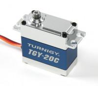 Turnigy™TGY-20C高トルクDS / MGサーボ40キロ/ 0.18sec / 78グラムの合金ケースのw /