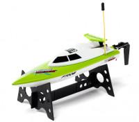 FT008高速小型RCボート - グリーン(RTR)