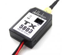 Walkeraの5.8GHz帯TX5803 200mWのFPVビデオトランスミッター
