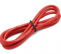 Turnigy高品質10AWGシリコンワイヤー1メートル(赤)