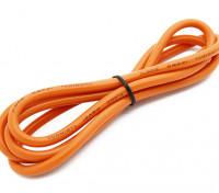 Turnigy高品質12AWGシリコンワイヤー1メートル(オレンジ)