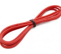 Turnigy高品質16AWGシリコンワイヤー1メートル(赤)