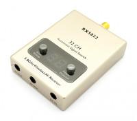 A / Vケーブルおよび電源ケーブルとRX-5822 5.8GHz帯32CHワイヤレスA / Vレシーバ