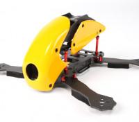 HobbyKing™RoboCat 270ミリメートルトゥルーカーボンレーシングドローン(イエロー)