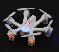 6軸ジャイロモード2とMJX X900ナノHexcopter飛ぶようにレディ(ホワイト)