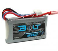 Turnigyボルトシティ500mAh 2S 7.6V 65〜130℃の高電圧Lipolyパック(LiHV)