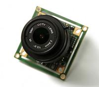 QUANUM 700TVL SONY 1/3カメラ2.8ミリメートルレンズ(NTSC)