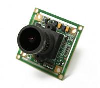 QUANUM 700TVL SONY 1/3カメラ2.1ミリメートルレンズ(NTSC)