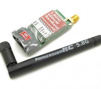 ImmersionRCレースバンド600mWの5.8GHz帯のA / Vトランスミッター