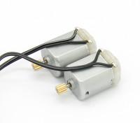 130ブラシ付きモーター(2個) - バッシャーRockSta 1/24 4WSミニロッククローラー