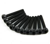 金属ソケットヘッド機械六角ネジM2.5x18-10台/セット