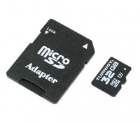 Turnigy 32ギガバイトU3マイクロSDメモリーカード(1個)