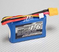 Turnigy 1600mAh 2S 20C LosiミニSCTパック(パートLOSB1212)