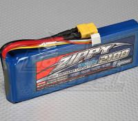 ジッピーFlightmax 2100mAh 3S1P 30CのLiFePO4パック