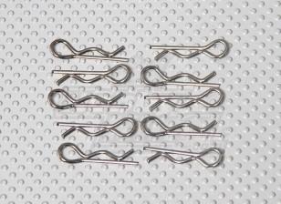 ボディクリップ(10PC /袋) -  A2016T、A2031、A2038、A3015およびA2032