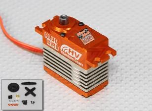 BMS-28A高電圧(7.4V)チタン合金ギア28キロ/ 0.10sec / 74グラム/ワットコアレスデジタルサーボ