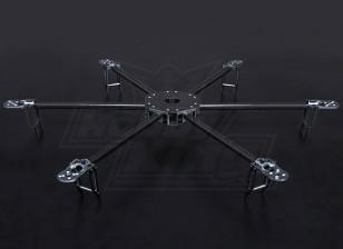 TurnigyタロンHexcopter(V1.0)カーボンファイバーフレーム -  625ミリメートル