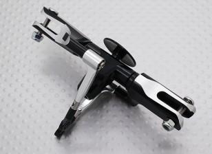 HK-450 PROフライバーレスDFCローターヘッドアセンブリ(斜板せずに/メインシャフト)