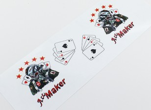 ノーズアート - 「エースメーカー「L / R利き
