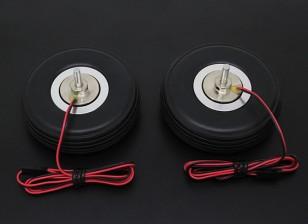 """Turnigy電気磁気ブレーキシステム72ミリメートル(2.75 """")ホイール(2PC)"""