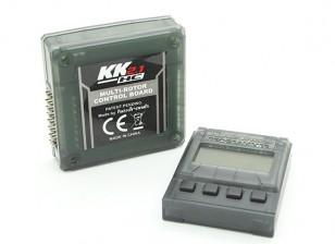 リモートプログラマーとHobbyKing KK2.1HCマルチローターハードケースフライト・コントロール・ボード