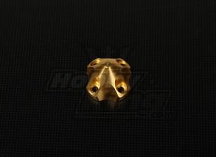 DLE30ための3Dスピナー(33x33x26mm)ゴールド