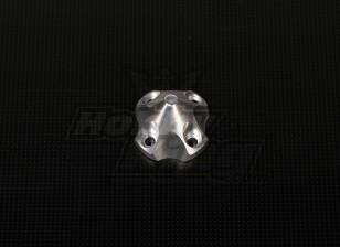 DLE30ための3Dスピナー(33x33x26mm)シルバー