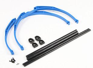 M200カニ脚ランディングギアセットDIY(ブルー)