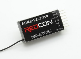 DM6F 2.4GHzのDMSS 6CH Parkflyレシーバー