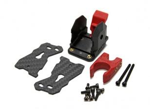 タロット680PRO HexaCopter交換脚折り畳み機構(1個)(ブラック)