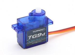 Turnigy™TG9dデジタルマイクロサーボ1.8キロ/ 0.09sec / 9グラム