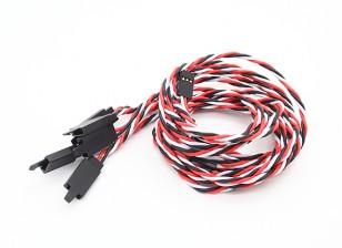 フック22AWG(クリニーク/袋)とツイスト60センチメートルサーボリード拡張について(双葉)