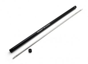 テールブーム/ワットタロット450 PROトルクチューブ - ブラック(TL45039)