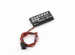 LEDレシーバ電圧モニタ