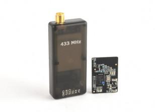 統合PCBアンテナ433MHzの有するマイクロHKPilotテレメトリラジオセット