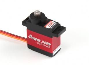 パワーHD 1810MGメタルギアコアレスデジタルサーボの3.9キロ/ 16グラム/ .13sec