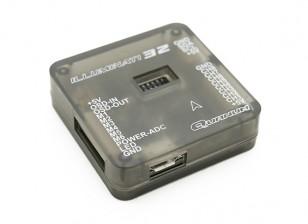 OSDとイルミナティ32フライトコントローラ(Cleanflightがサポートされています)