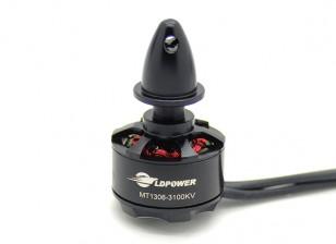 LDPOWER MT1306-3100KVブラシレスMulticopterモーター(CCW)