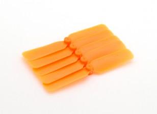 GemfanマルチローターCCWミニプロップセット65ミリメートル(オレンジ)