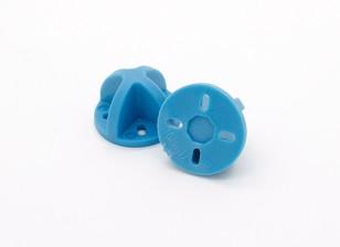 9ミリメートル/ 12ミリメートルのためのダイヤトーンランディングギア(ブルー)(2個)