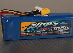 ジッピーFlightmax 3000mAhの4S1P 20C