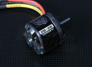 NTMプロップドライブシリーズ28-26Aの1200kv / 286ワット