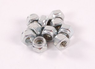 六角ロックナットM4 10PC
