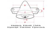Folding Prop Spinner 40mm / 5.0mm shaft 3