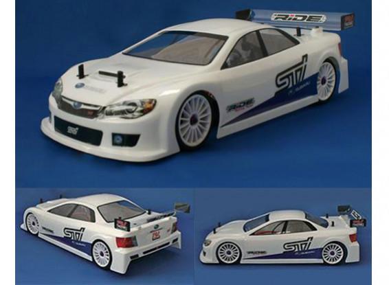 Passeio de Subaru Impreza WRX STI 4door 1/10 Touring Car Shell Corpo - Regular Peso - Clear (EFRA)