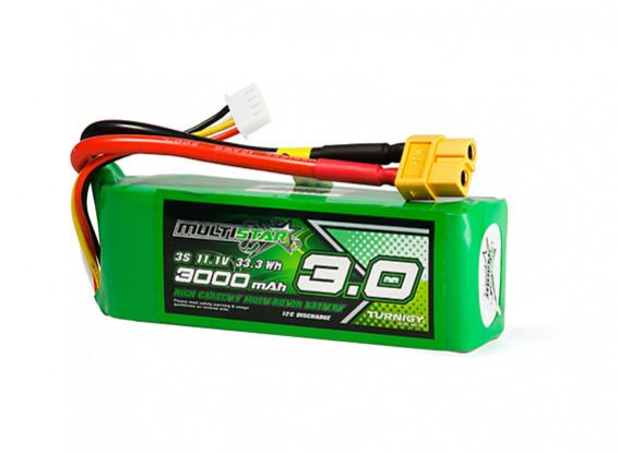 MultiStar High Capacity 3000mAh 3S 12C Multi-Rotor Lipo Pack w/XT60