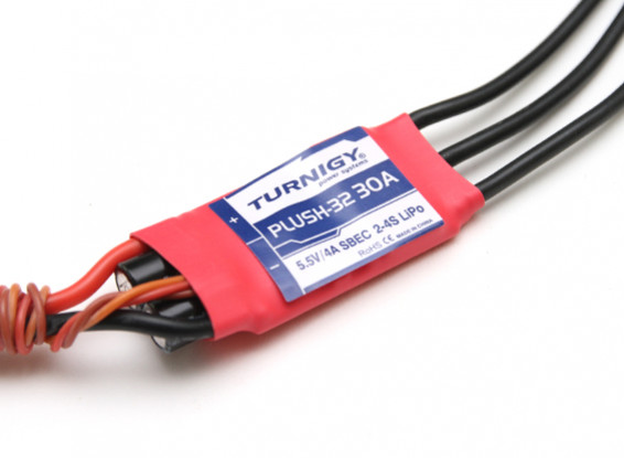 Turnigy Plush-32 30A (2~4S) Speed Controller w/BEC
