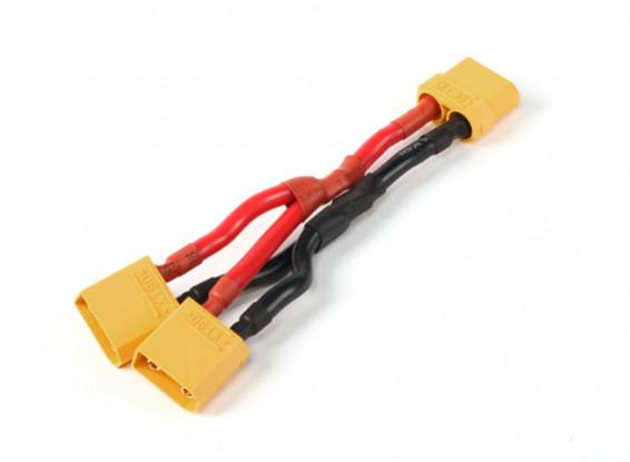 XT90 Battery Harness 10AWG para 2 Packs em Paralelo